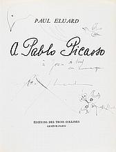 Dali, Salvador, Maler (1904-1989). Eigenh. Widmung