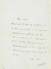 Gide, André, Schriftsteller (1869-1951). Drei