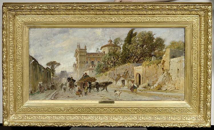 AERNI, THEODOR FRANZ (1853 Aarburg 1918) Street