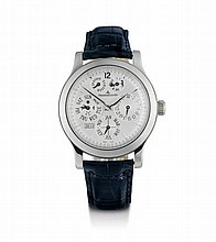GENTLEMAN'S WRISTWATCH, MASTER 8-DAY, PERPETUAL,