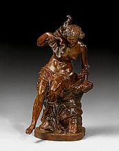 LARGE GARDEN FIGURE,Napoleon III, France, end of the 19th c