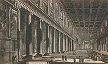 PIRANESI, GIOVANNI BATTISTA (Mogliano 1720 - 1778 Rome). Veduta i