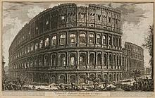 PIRANESI, GIOVANNI BATTISTA (Mogliano 1720 - 1778 Rome). Veduta d