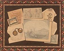 FERRIERE, FRANCOIS (Geneva 1752 - 1839 Morges) Trompe-l'oe