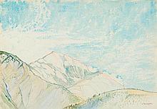 TRACHSEL, ALBERT (Nidau 1863 - 1929 Geneva) View of the Al