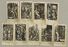SADELER, MARCUS (geb. 1614 in München). Lot von