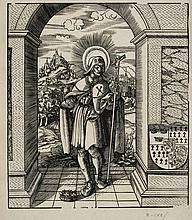 ANONYM, UM 1600. Der heilige Jakobus der Ältere