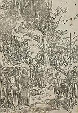 DÜRER, ALBRECHT (1471 Nürnberg 1528). Die Marter