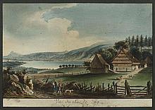 ZUG - KANTON.- Caspar Wolff (1735-1798). Vuë du