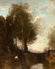 COROT, JEAN BAPTISTE CAMILLE(Paris 1796 - 1879 Ville-d'