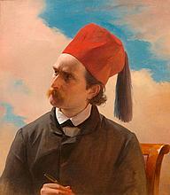 FRENCH SCHOOL, MID 19TH CENTURYPortrait of a scholar.