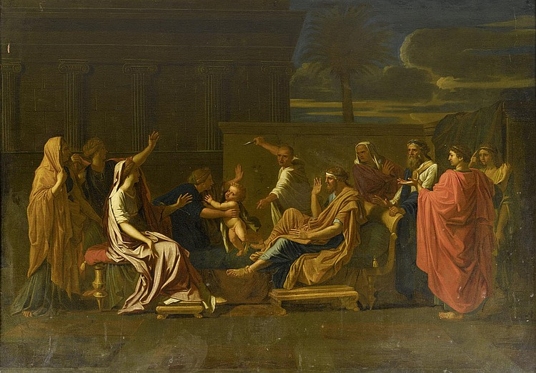 Copy, probably 18th century, after POUSSIN,