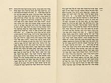 Behmer, M. - Biblia hebraica. Pentateuch. Chamishah Chumshei Torah. 2 in 1