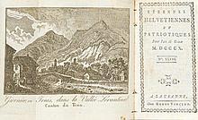 ALMANACHE - [Bridel, P.S. u. J.L.P.]. Etrennes helvétiennes et patriotiques