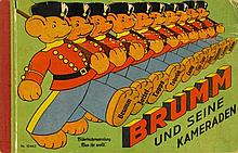 Brumm und seine Kameraden. [Nürnberg, Spear & Söhne, 1930]. Quer-Gr.-8°. [6