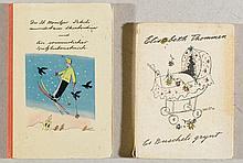 Carigiet, A. - Zwei illustrierte Kinderbücher in Erstausaben.ENTHÄL