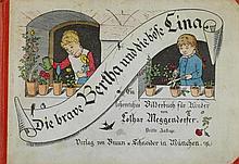 Meggendorfer, Lothar. Die brave Bertha und die böse Lina. Ein lehrreiches B