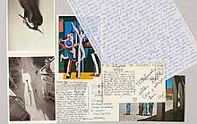Bayer, Herbert, Graphikdesigner u. Bauhauskünstler (1900-1985). Eigenh. Bri
