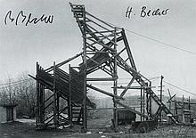 Becher, Bernd (1931-2007) u. Hilla (geb. 1934), Photographen. Eigenh. Namen