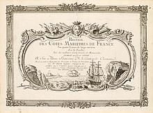 ATLANTEN - Brion de la Tour, Louis. Recueil des Cotes Maritime des France.