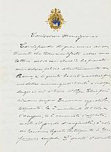 Benedikt XV. (Giacomo della Chiesa), Papst (1954-1922). Eigenh. Brief mit U
