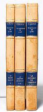 Malraux, A. Psychologie de l'art. 3 Bde. Mit zahlreichen sw- und montierten