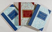FAKSIMILE - Lory, G. Fils - Konvolut von 3 reich illustrierten Faksimiles d