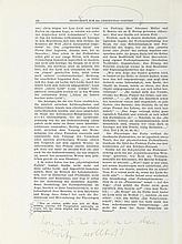 Wittgenstein, Ludwig, Philosoph (1889-1951). Handexemplar von: Ludwig Hänse