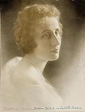 Boissonnas, Frédéric (1858-1946). Portrait von Madame Caillat. Sign. Origin
