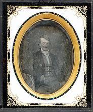 DAGUERREOTYPIEN - Merveilleux, Samuel-Henri de - [Anonym]. Portrait. Origin