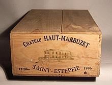12 bts Bordeaux Saint-Estèphe Château Haut-Marbuzet Cru Bourgeois Exceptionnel 0