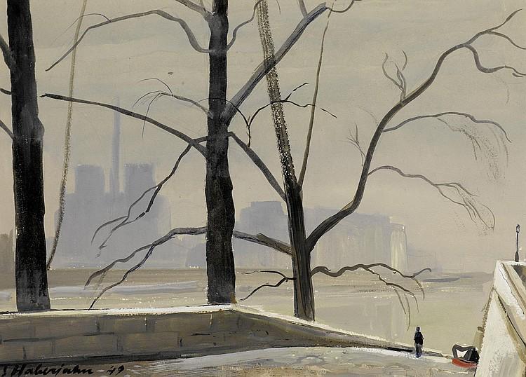 HABERJAHN, GABRIEL EDOUARD. (1890 - 1956). The