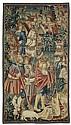 TAPISSERIE 'LES TROIS MAGES', Renaissance, Tournai