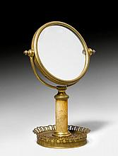 FROM THE DE AMODIO COLLECTION: SMALL TABLE MIRROR, Directory, Fra
