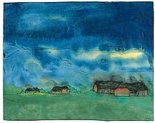 NOLDE, EMIL(Nolde 1867 - 1956 Seebüll)Marsh