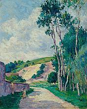 LUCE, MAXIMILIEN(1858 Paris 1941)Route de Campagne