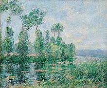 LOISEAU, GUSTAVE(1865 Paris 1935)Bords de l'Eure.