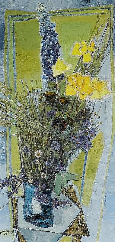 MAC AVOY, HAROLD.(1891 - 1977).Bouquet of flowers.