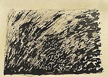 HENRI MICHAUX1899 - 1984Composition. 1964.China