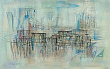 FRANCIS BOTT1904 - 1998Komposition. 1954.Mixed