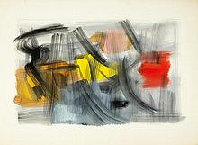 FRITZ WINTER1905 - 1976Untitled. 1963.Oil on
