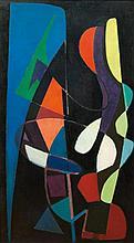 ROBERT FONTENÉ1892 - 1980Abstract composition. F