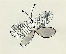 ANDY WARHOL1928 - 1987Large Butterfly.China ink
