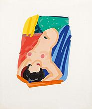 TOM WESSELMANN1931 - 2004Study for Nude Lying on