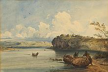 BODMER, KARL(Riesbach 1809 - 1893 Barbizon)Indian
