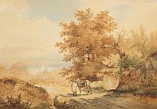 CALAME, ALEXANDRE(Vevey 1810 - 1864 Menton)Vue de