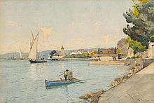 BOCION, FRANCOIS(1828 Lausanne 1890)Château