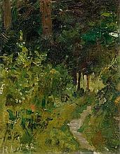 ANKER, ALBERT(1831 Ins 1910)In the forest.