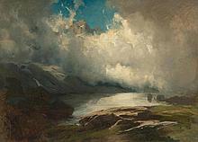 KOLLER, RUDOLF(1828 Zurich 1905)Mountain landscape