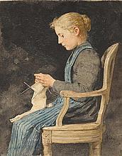 ANKER, ALBERT(1831 Ins 1910)A girl